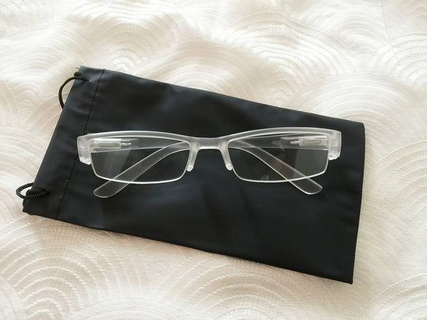 Transparent Half frame specs glasses - Elizabeth Accessories, Sunnies, Shades, Sunglasses - fashion Accessories