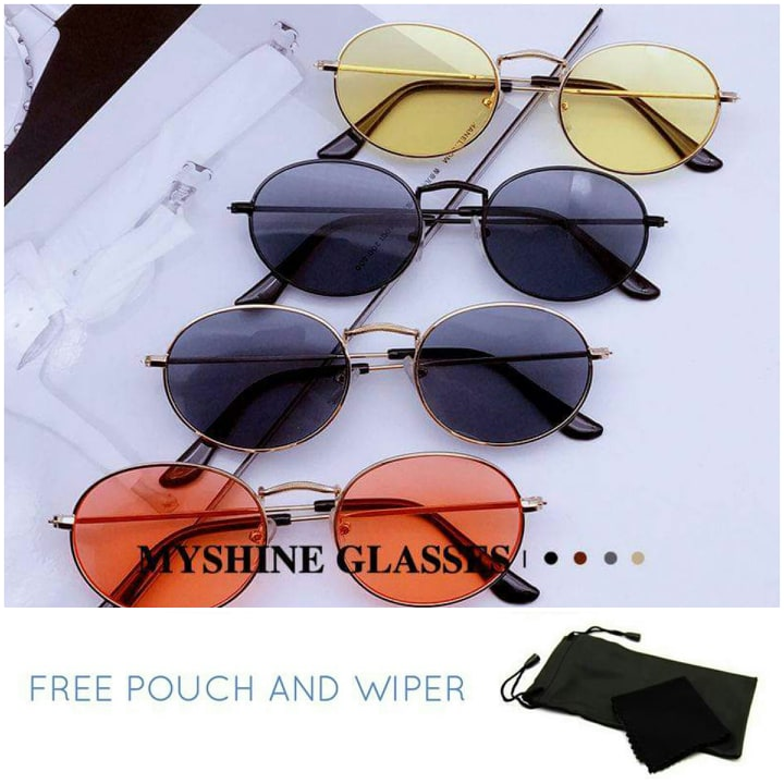 Slim oval sunglasses - Elizabeth Accessories, Sunnies, Shades, Sunglasses - Sunglasses and Eyeglasses