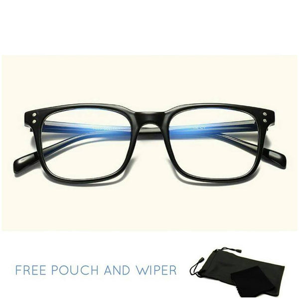 Anti rad unisex rectangle eyeglasses - Elizabeth Accessories, Sunnies, Shades, Sunglasses - Sunglasses and Eyeglasses