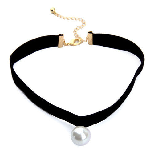 Elegant pearl choker - Elizabeth Accessories, choker - Sunglasses and Eyeglasses