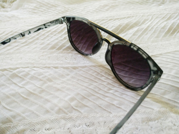 Modern style printed sunnies - Elizabeth Accessories, Sunnies, Shades, Sunglasses - Sunglasses and Eyeglasses