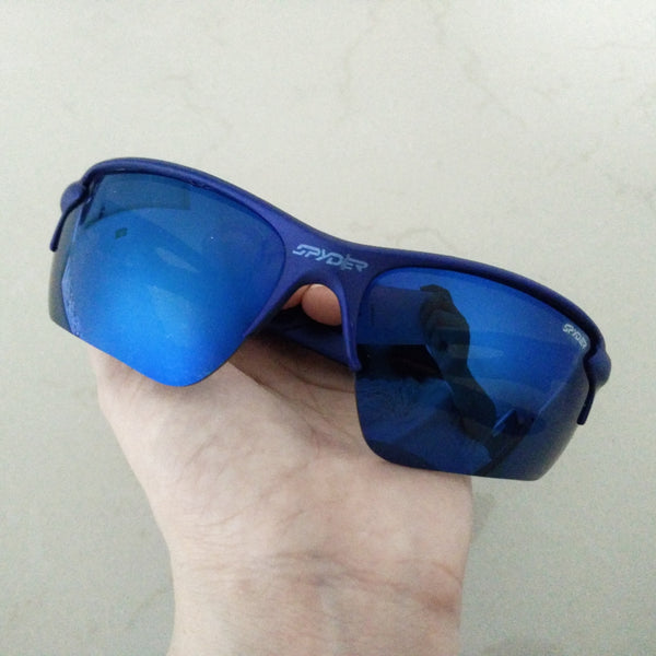 Spyder sports sunglasses Blue frame - Elizabeth Accessories, Sunnies, Shades, Sunglasses - Sunglasses and Eyeglasses