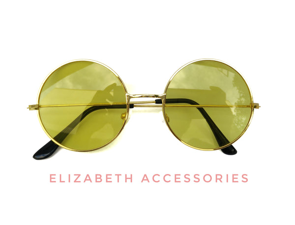 Round yellow sunnies