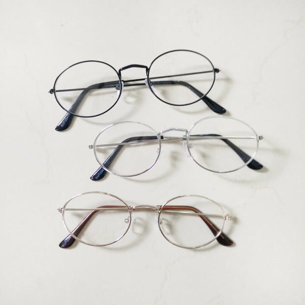 oval eyeglasses