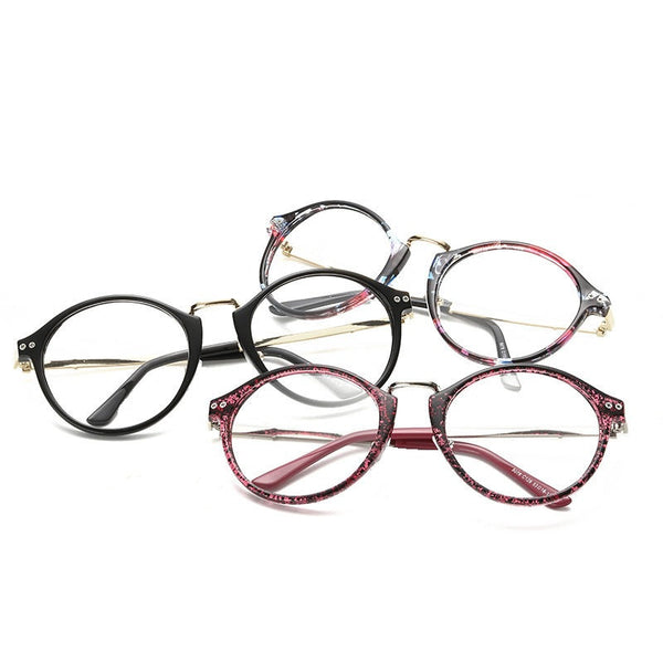 Pop round glasses frame black - Elizabeth Accessories, Sunnies, Shades, Sunglasses - Sunglasses and Eyeglasses
