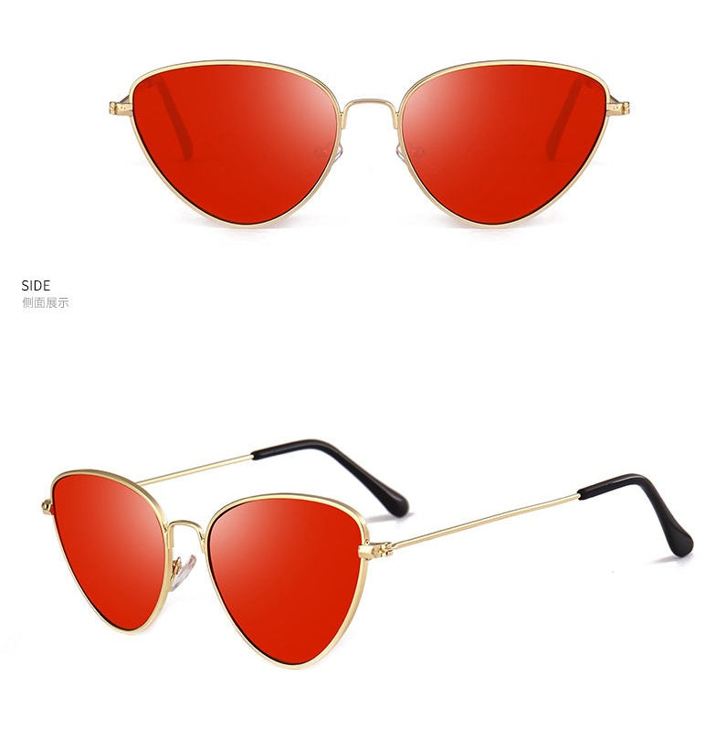 Trendy metal cats eye sunnies - Elizabeth Accessories, Sunnies, Shades, Sunglasses - Sunglasses and Eyeglasses