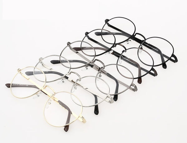 Semi round metal eyeglasses - Elizabeth Accessories, Sunnies, Shades, Sunglasses - Sunglasses and Eyeglasses