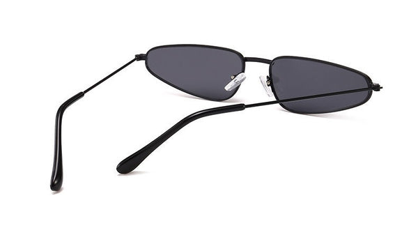 Slim Asymmetric Frame Sunglasses - Elizabeth Accessories, Sunnies, Shades, Sunglasses - Sunglasses and Eyeglasses