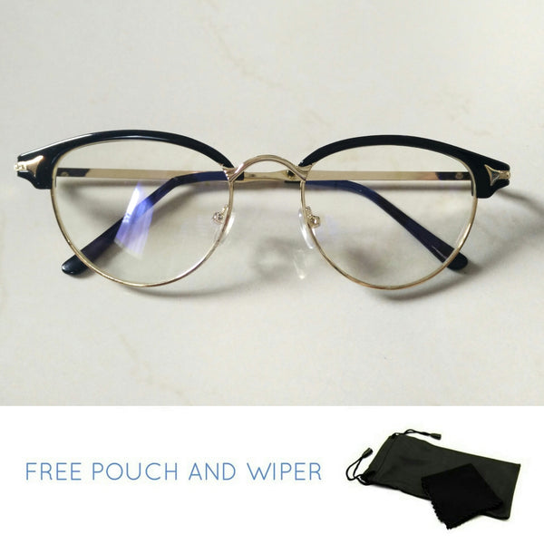 Anti rad elegant style computer glasses