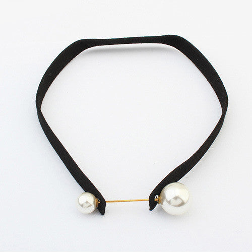 Pearl choker - Elizabeth Accessories, choker - Sunglasses and Eyeglasses