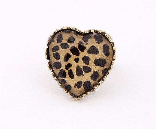 Cute heart opening ring - Elizabeth Accessories, Ring - Sunglasses and Eyeglasses