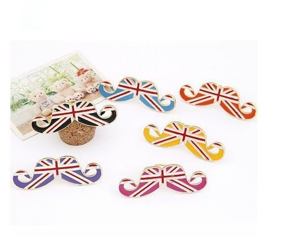 Flag Mustache Opening Ring - Elizabeth Accessories, Ring - Sunglasses and Eyeglasses