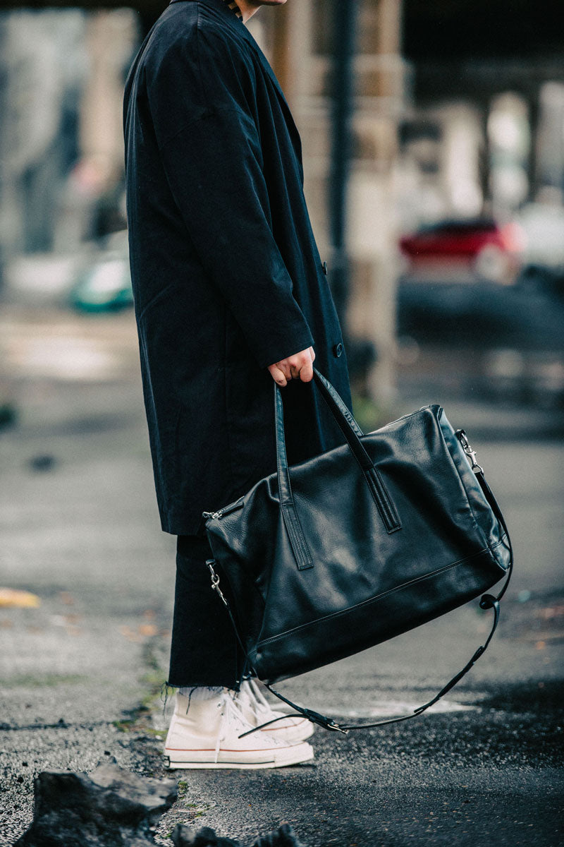 BLACK_LEATHER_WEEKENDER_JACOBKELLER_NATELUNDSTROM