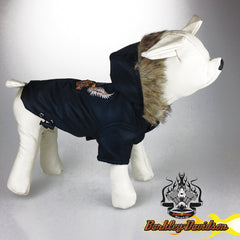 Dog Clothes Barkley Davidson Motorcycle Dog Coat Jacket