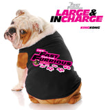 Fast & the Furrious™ - Large & in Charge Black Dog Tank