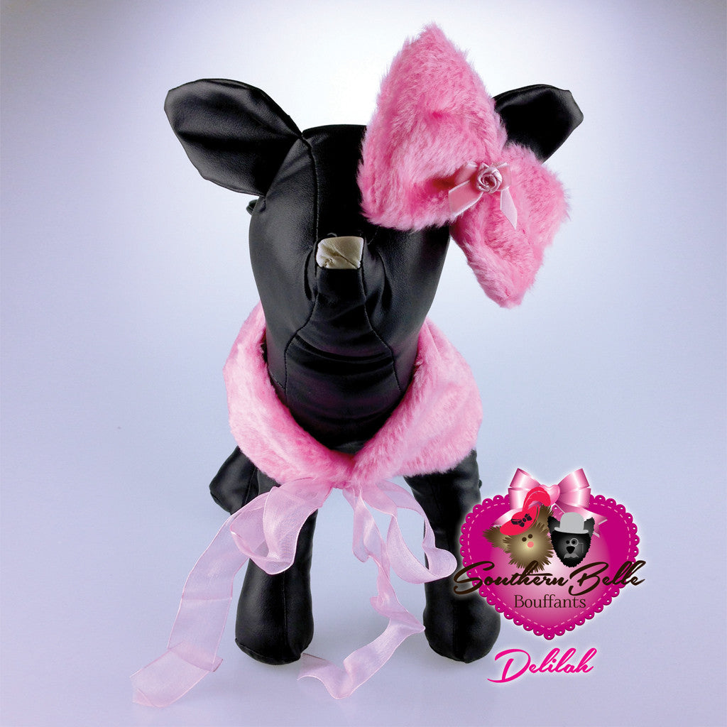 Southern Belle Dog Shawl & Bow - Delilah