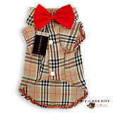 Bow-Tie Dog Shirt- Furberry