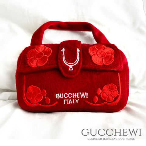 Guuchewi Italy- Floral Designer Purse Dog Toy