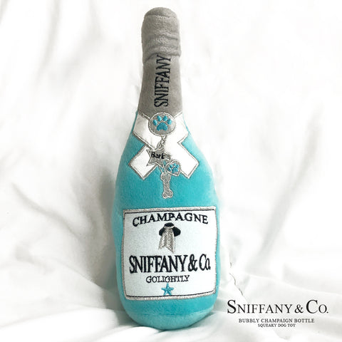 Sniffany's Bubbly Champaign, Squeeky Dog Toy