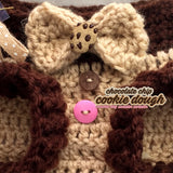 Cookie Dough Dog Sweater, Winter Clothes