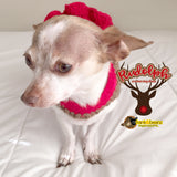 Rudolph the Reindeer Sparkle Dog Dress