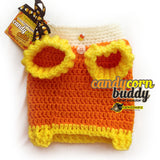 Dog Clothes, Candy Corn Dog Sweater, Halloween Dog Costume