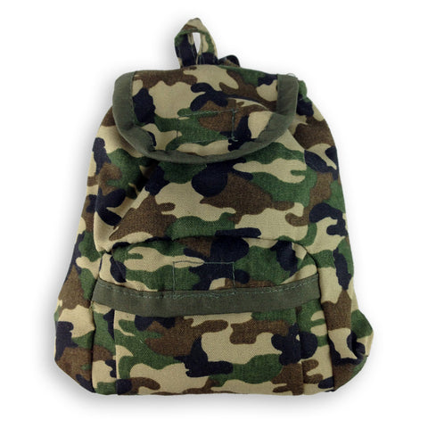 Fast & the Furrious™ Camouflage Dog Backpack