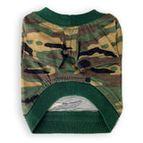 Fast & the Furrious™ - I Ride Shotgun Camouflage Dog Shirt