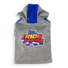 Fast & the Furrious™ - I Ride Shotgun Dog Hoodie Shirt