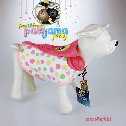Pawjama Party - Birthday Confetti Dog hoodie