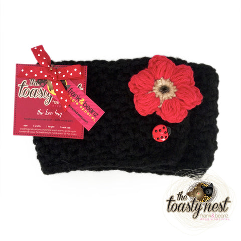 Toasty Nest Dog Scarf - The Love Bug