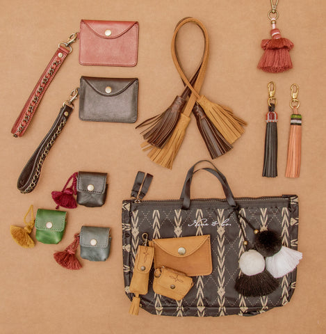 flat lay of some nena & co. items priced below $50