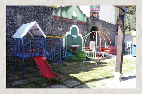 New playground for kids in Guatemala
