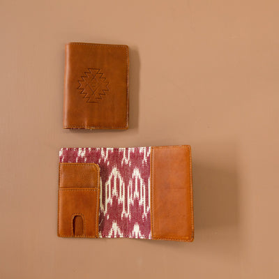 PASSPORT CASE - ARTISAN BAYA VINO - CAFE LEATHER