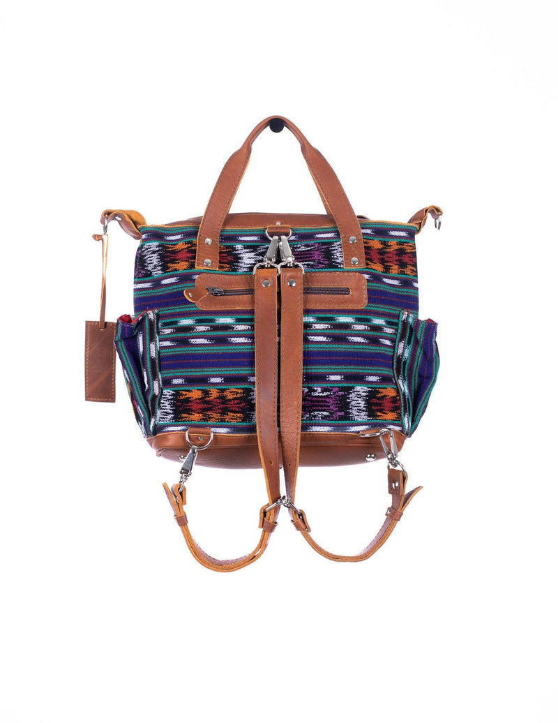 ARTISAN URPLE MEDIUM CONVERTIBLE DAY BAG - HORIZONTAL
