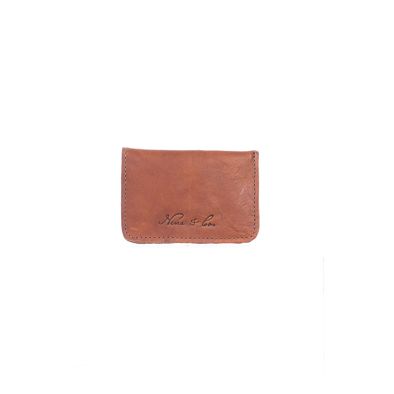 ARTISAN CARD WALLET - BAYA VINO - CAFE