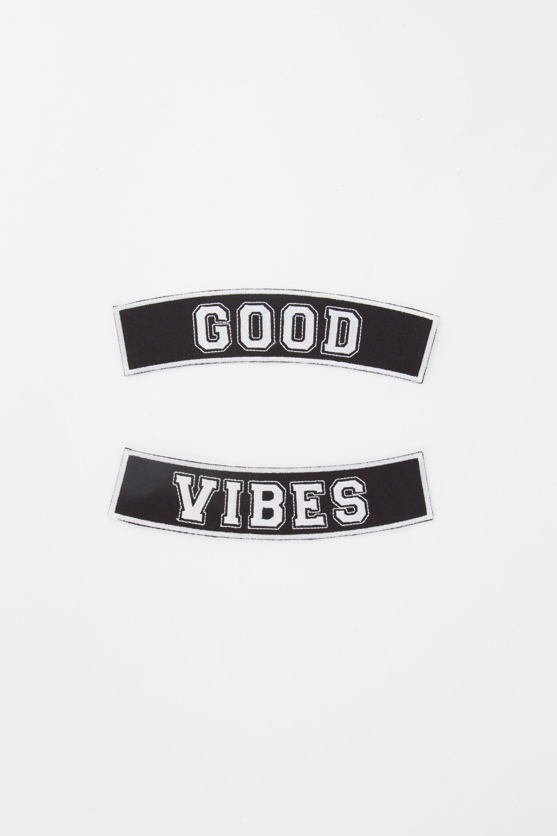 ARTISAN GOOD VIBES PATCH - NENA & CHILL