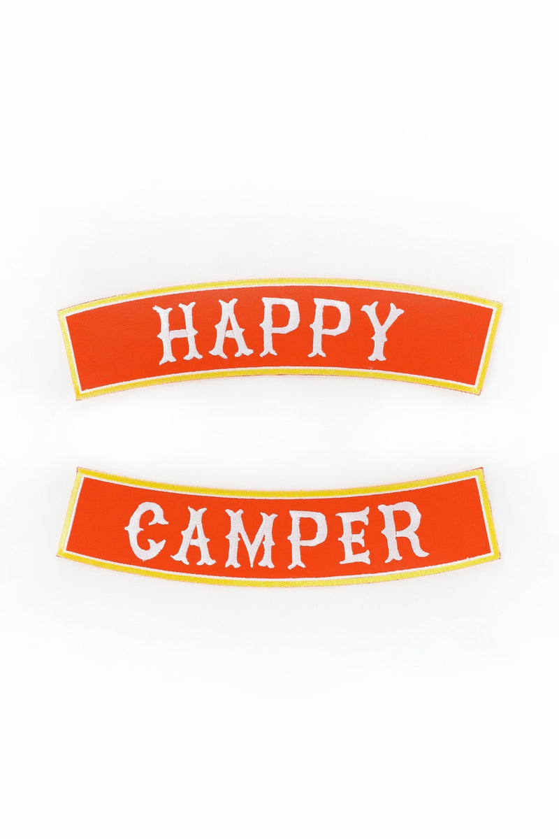 ARTISAN HAPPY CAMPER PATCH - SET