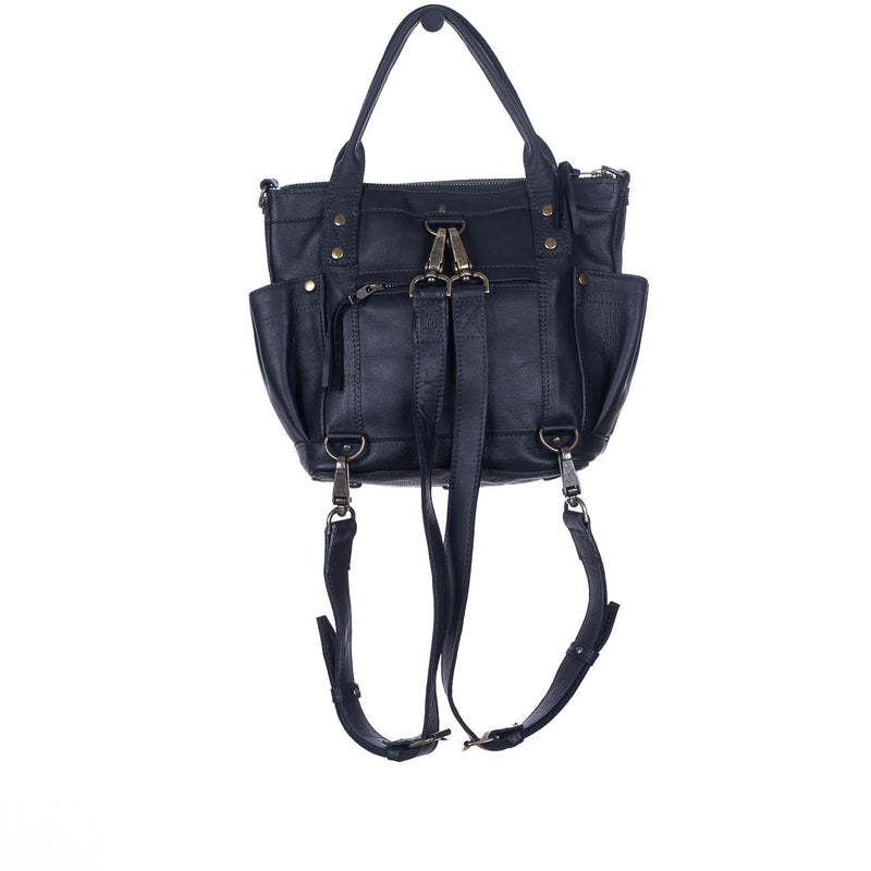 H&S THE PERFECT BAG INDIGO BLOOM MINI BLACK - NO. 6514