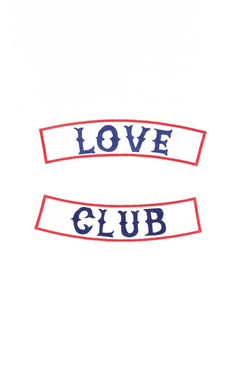 ARTISAN LOVE CLUB PATCH - SET