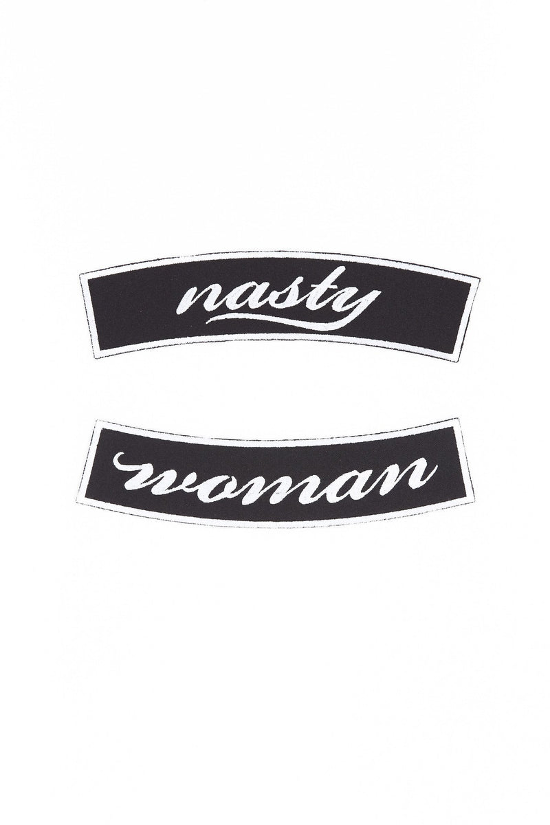 ARTISAN NASTY WOMAN PATCH - SET