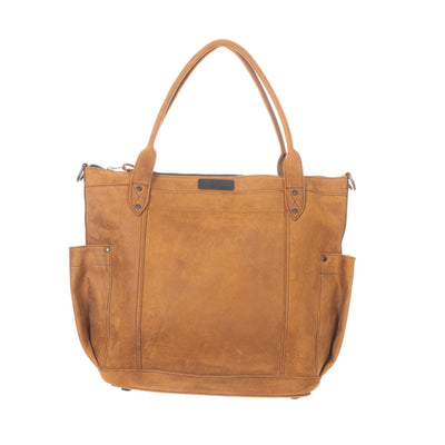 THE PERFECT BAG FULL - MEXICO COLLECTION - TOBACCO FULL LEATHER