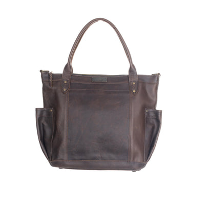 THE PERFECT BAG FULL - MEXICO COLLECTION - PAINTHORSE TUMBLED LEATHER