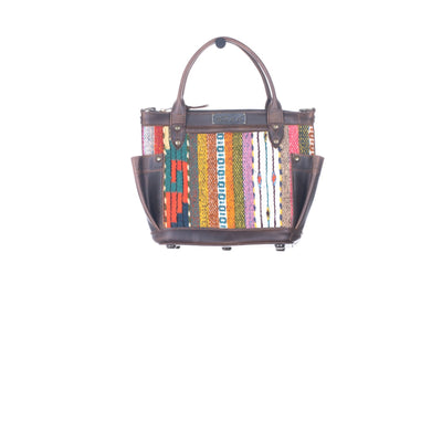 THE PERFECT BAG MINI - MEXICO COLLECTION - HANDWOVEN PANEL NO. 29148