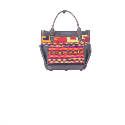 THE PERFECT BAG MINI - MEXICO COLLECTION - HANDWOVEN PANEL NO. 29228