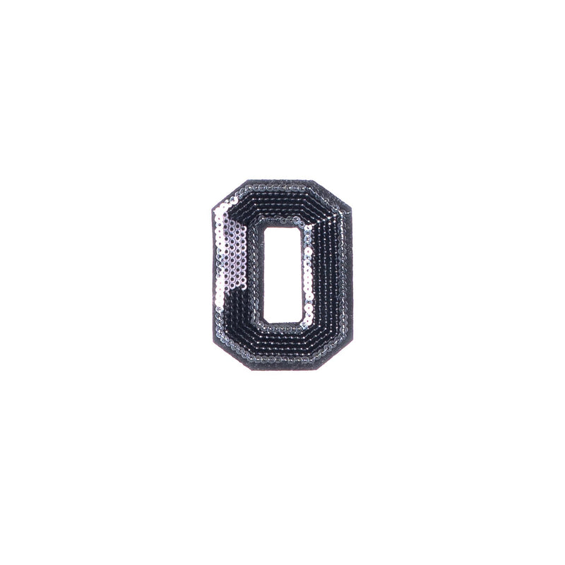"BLOCK LETTER ""O"" PATCH"