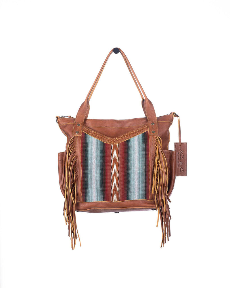 THE PERFECT FRINGE BAG HORIZON HAZE MEDIUM CAFE