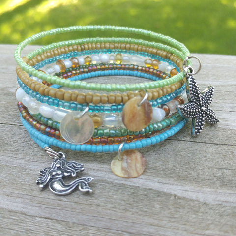 Mermaid Beach Wrap Bracelet