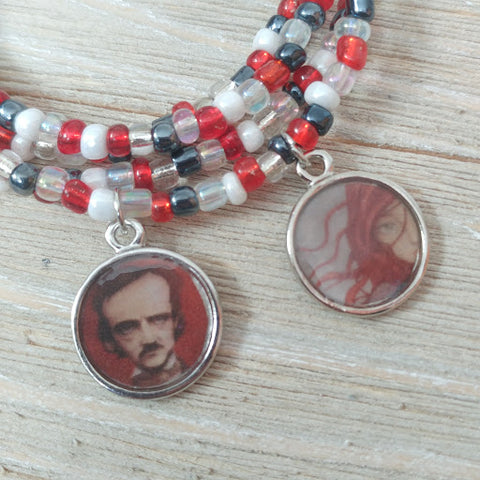 Poe's Annabel Lee Wrap Bracelet