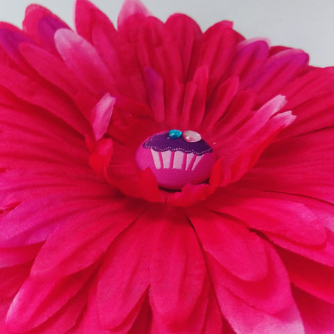Big Cupcake Daisy Hair Flower - #QtsyLife  Fashion and Planner Accessories - QtsyLife.com